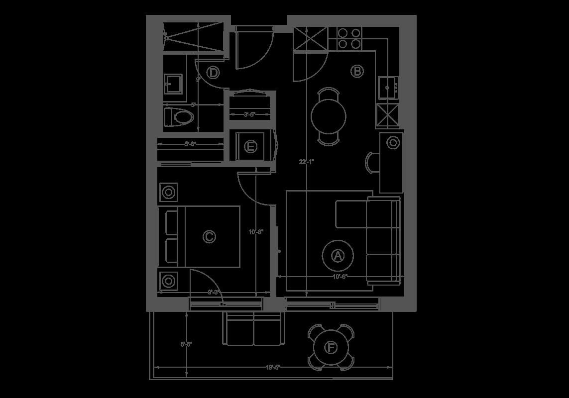 plan de l'unité 601