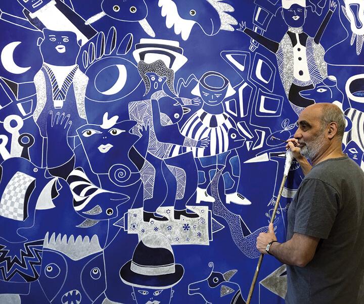 David Farsi Bleu Ciel MTL en Arts